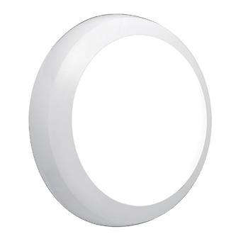 Saxby belysning Hydra integrert LED beredskap utendørs flush Light gloss hvit, Opal IP65 74826