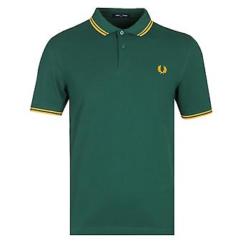 Fred Perry M3600 Ivy camiseta polo verde