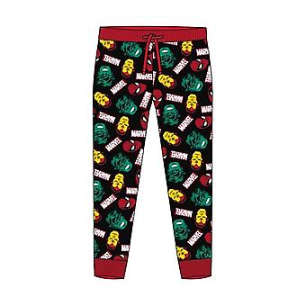Men's Marvel Comics Avengers Cuffed Lounge Pants