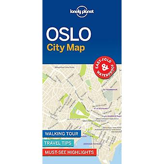 Lonely Planet Oslo City Map by City Map