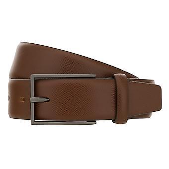 Lloyd men ' s bälten bälte mäns bälte läderbälte Brandy 8428