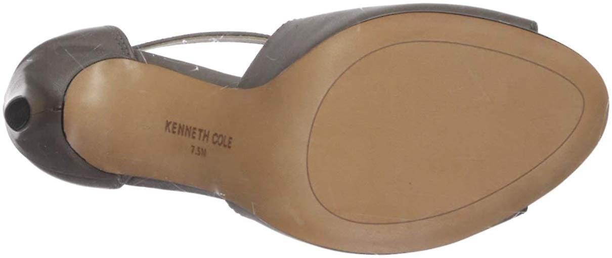Kenneth Cole New York kvinner ' s Brylie peep toe T-stropp kjole Sandal hæler, gr...