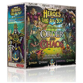 Heroes of land Air & Sea-Order og kaos Expansion Pack