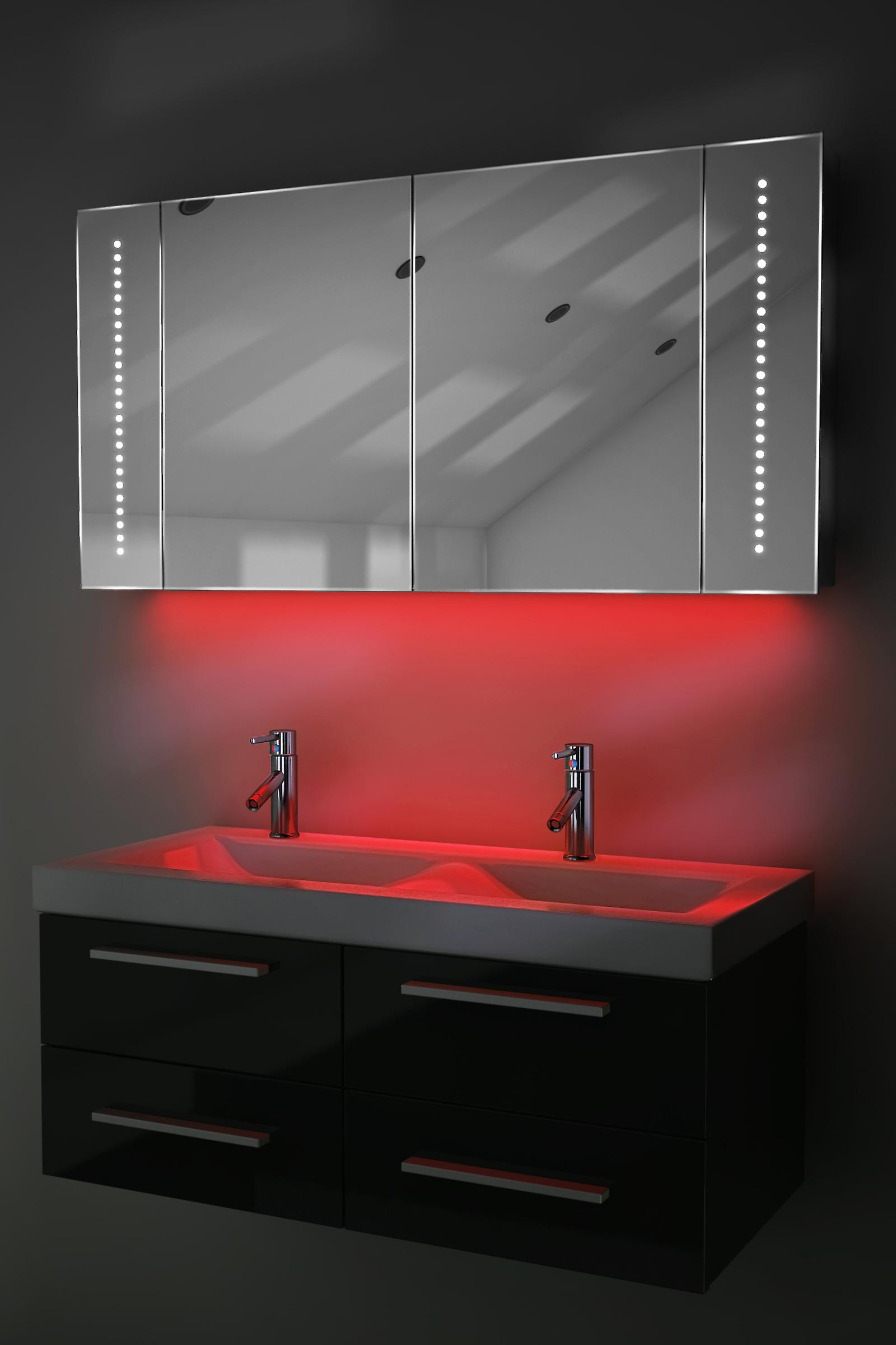 Auto Colour Changing Cabinet With Shaver & Sensor K126Rgb