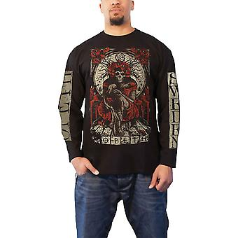 Opeth T Shirt Haxprocess Band Logo new Official Mens Black Long Sleeve