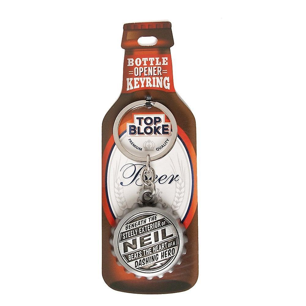 History & Heraldry Keyring - Neil Bottle Opener