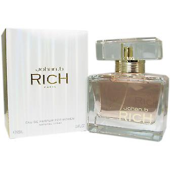 Rich naisten Johan b. 2,8 oz Eau de Parfum Spray
