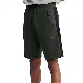 Superdry Urban Tech Jersey Shorts Surplus Olive Green LO3