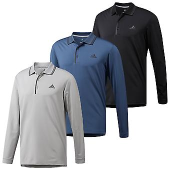 adidas Golf Mens Ultimate Stretch UPF50+ Breathable Polo Shirt