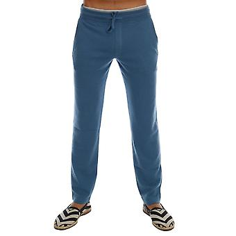 Dolce & Gabbana Blue Cashmere Gym Training Sport Pants