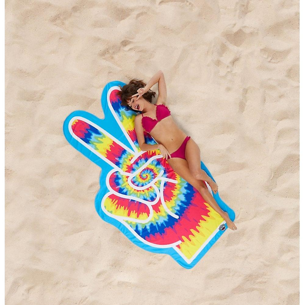 BigMouth Inc. Giant Beach Blanket (Peace Fingers)
