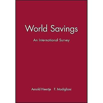 Besparingen van de wereld: Een internationale enquête