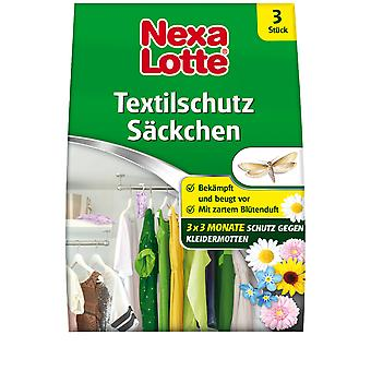 NEXA LOTTE® sacchetti per la protezione tessile, 3 pezzi