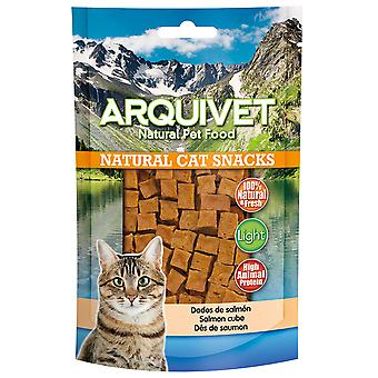 Arquivet Natural Snack for Cats Salmon Dice (Cats , Treats , Eco Products)