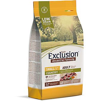 Exclusion Ancestral Adult Country Pork, Lamb and Eggs Small Breed