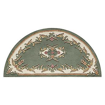 Royal Aubusson Half Moon Rugs In Green