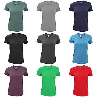 American Apparel Womens/Ladies Plain Short Sleeve T-Shirt