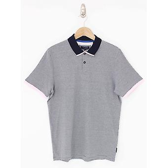 Ted Baker Caffine Striped Polo - Navy