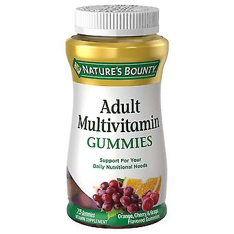 Nature's bounty volwassen multivitamine gummies, 75 ea