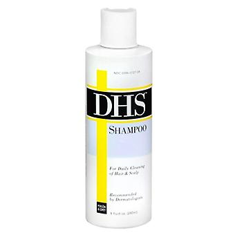 Dhs shampoo for daily cleaning, 8 oz