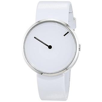 Jacob Jensen Unisex Quartz analogue watch with leather band Curve Series 253