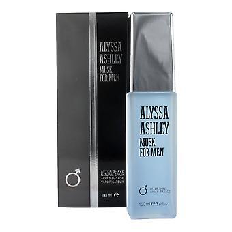 Alyssa Ashley Musk For Men Aftershave 100ml