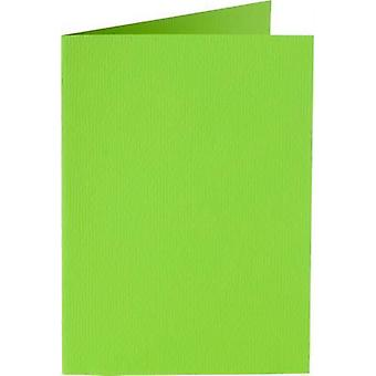 Papicolor Double card A6 spring green 200gr 6 pc 309952- 105x148 mm