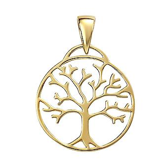 Begin Sterling Silver Plated Tree Of Life Hanger P4867