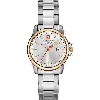 Sveitsin armeija Hanowa 06-7230.7.55.001 Sveitsiläinen alokas Lady II Watch