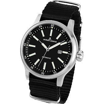 Jacques Lemans - Wristwatch - Men - Porto Automatic - Automatic - 1-1723D
