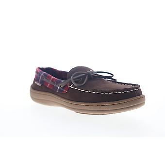 Ben Sherman Matt Mocassin  Mens Brown Suede Low Top Boat Shoes Loafers
