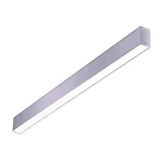 Forlight Ilo - LED Linear Flush Ceiling Light Grey 120cm 2635lm 3000K - TC-0450-GRI