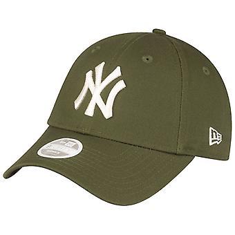 Νέα Εποχή 9Forty Γυναικών Cap - Νέα Υόρκη Yankees ελαιόδεντρων πράσινο