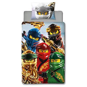 Zestaw pokrywy kołdry Lego Ninjago Lightning z jednym panelem