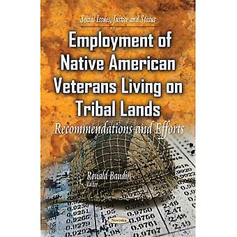 EMPLOYMENT OF NATIVE AMERICAN VETERANS (Social Issues, Justice and Status)