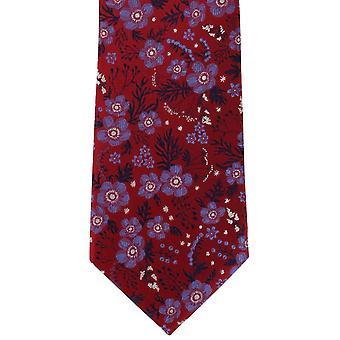 Michelsons London klassische florale Krawatte - rot
