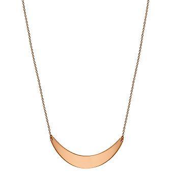 KJ Beckett Crescent Bar halsband - Rose Gold