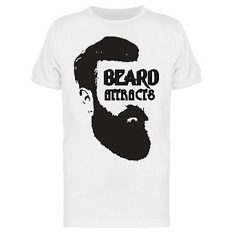 Beard Houkuttelee, Face Drawing Tee Men's -Kuva Shutterstock