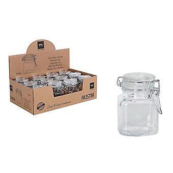 Glass Jar Mini La Mediterránea 100 ml Hermetically sealed