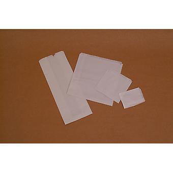 Weller Medium White Sulphite Paper Bags 17.5cm