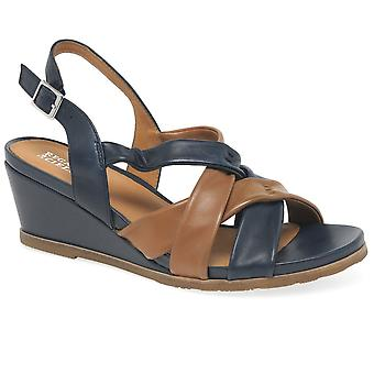 Regarde Le Ciel Tolosa Womens Wedge Sandals
