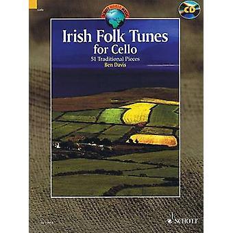 Irish Folk Tunes for Cello - 51 Traditional Pieces by Ben Davis - 9781