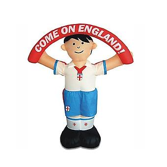 Duplay England Footballer World Cup 2018 Football Fan Quick Set-Up Self Standing