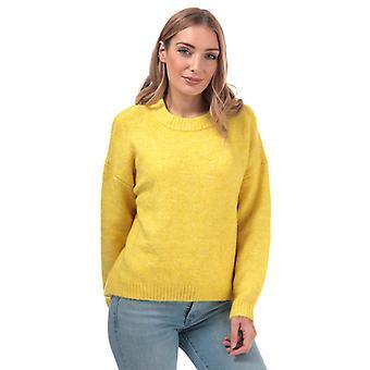 Women's Only Zoey Boyfriend Jumper in Yellow