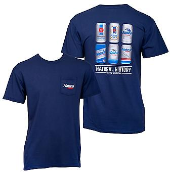 Natty Φως Φυσική Ιστορία Rowdy Τζέντλεμαν Μπλε Men's T-Shirt