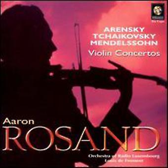 Plays Arensky/Tchaikovsky/Mend [CD] USA import