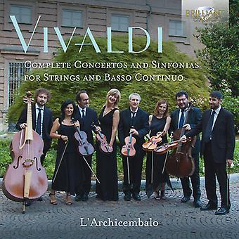 Complet Concertos & Sinfonias [CD] Usa import