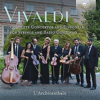 Complete Concertos & Sinfonias [CD] USA import