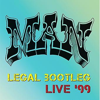 Man - Legal Bootleg Live 99 [CD] USA import