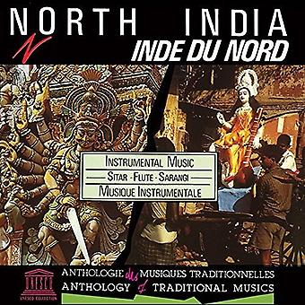 North India: Instrumental Music-Sitar Flute [CD] USA import